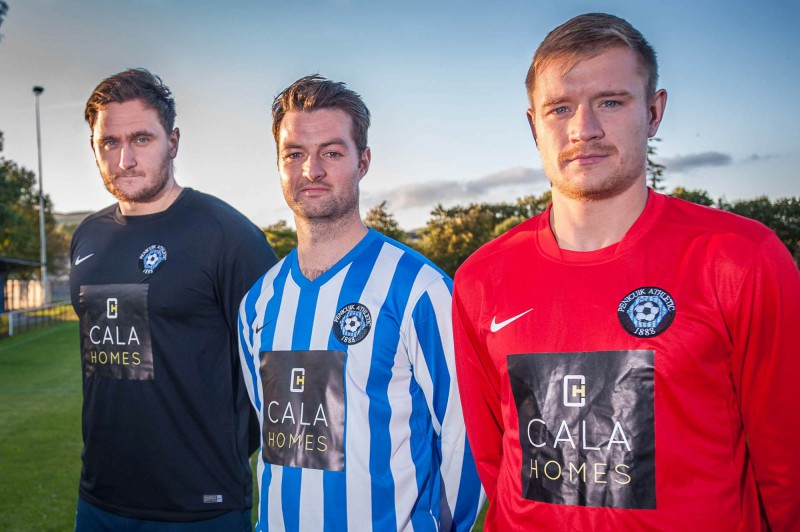 PR photography for Penicuik Athletic