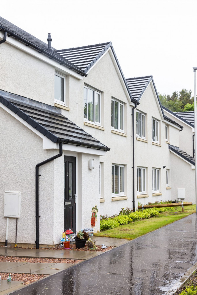 Cairn Housing Association, in partnership with Angus Housing Association is officially opening its new development of 71 much needed affordable homes. PR photography