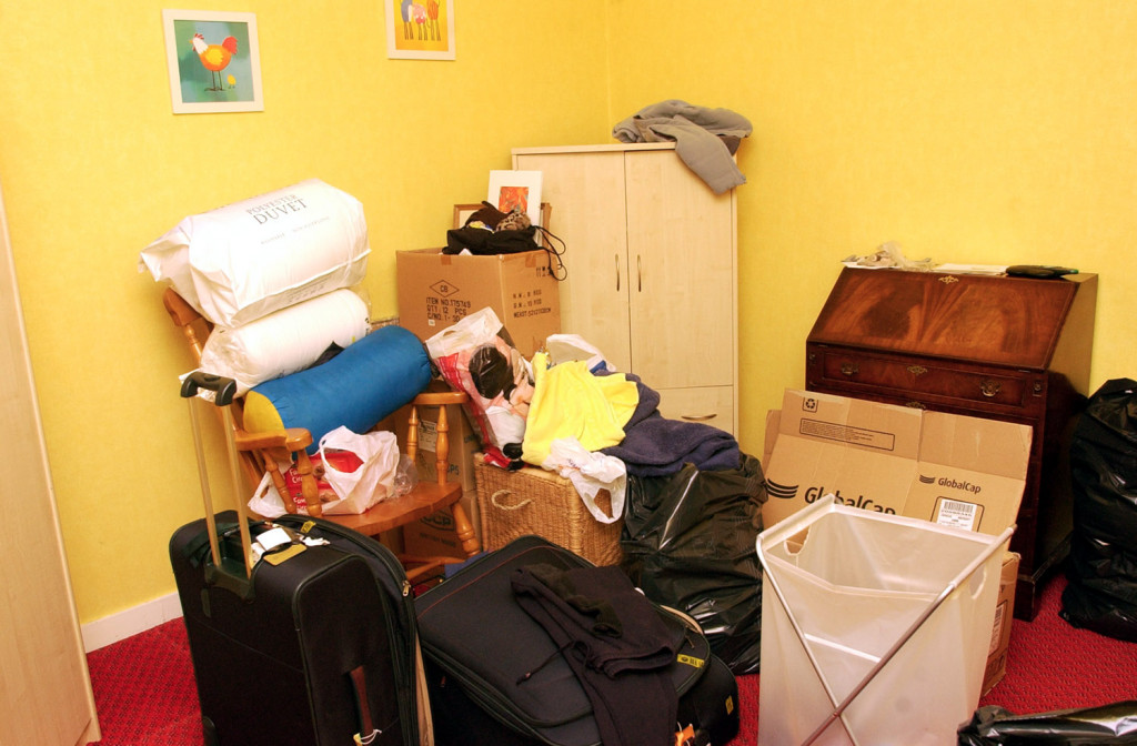 A cluttered home given a health check by House Doctor Jo Whitson