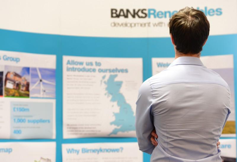 Birneyknowe wind farm public exhibition
