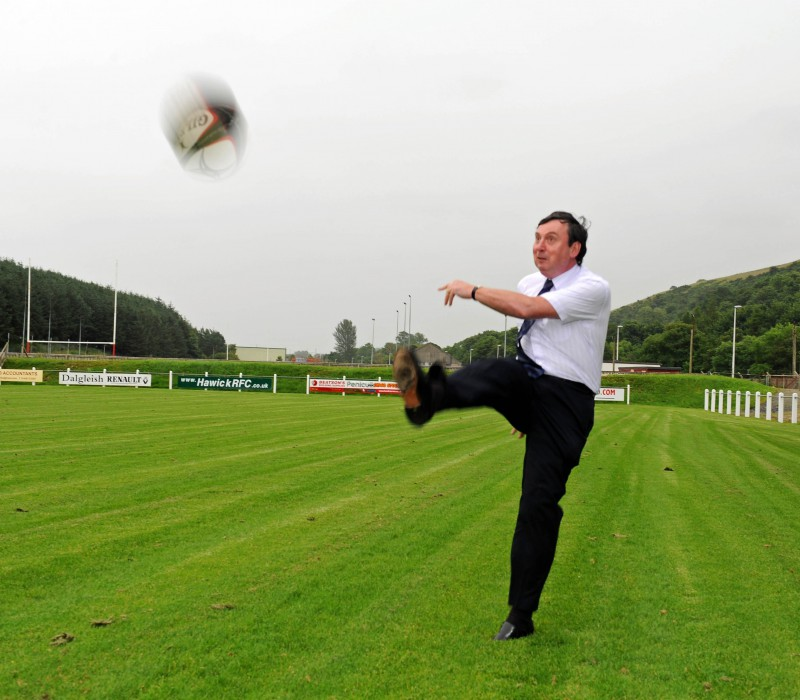 Rugby sponsorship deal, celebrated with help of Edinburgh PR agency