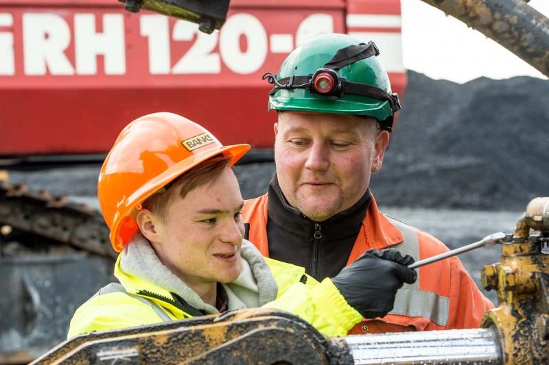 Banks Mining in Scotland