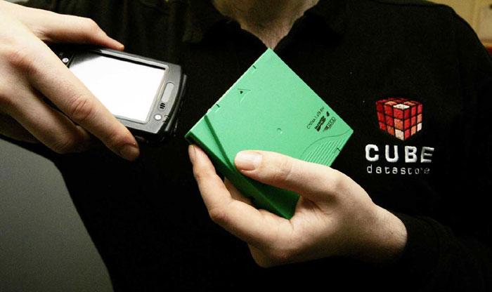 PR photos by Holyrood PR in Edinburgh for Cube Datastore