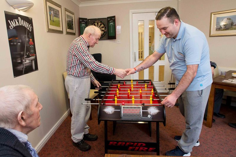 PR Photography Shows off Care Home Pub Innovation