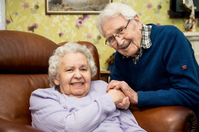 Loved-up Couple spend 71st Valentines Day at Bupa Care Home
