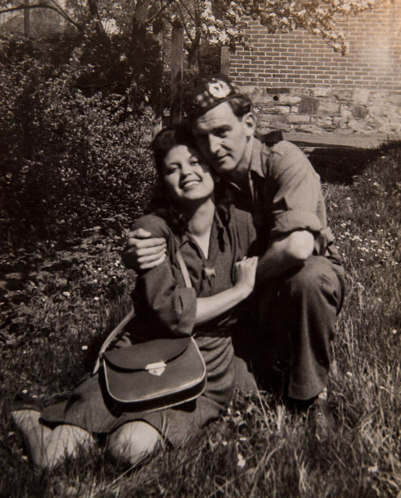 Archive photo of couple who survived Nazis to find love celebrate 71st Valentiene's Day together - captured in care PR photography