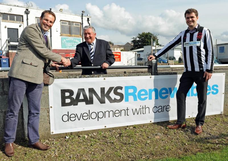 Wind farm sponsorship for Cumnock Juniors