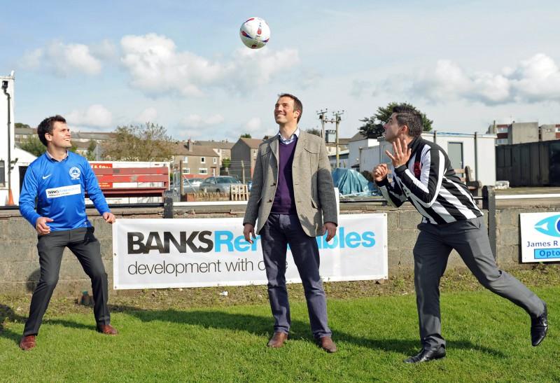 Sponsorship deal between Banks Renewables and Cumnock Juniors