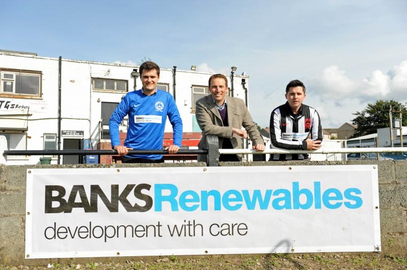 Banks Renewables football sponsorship deal