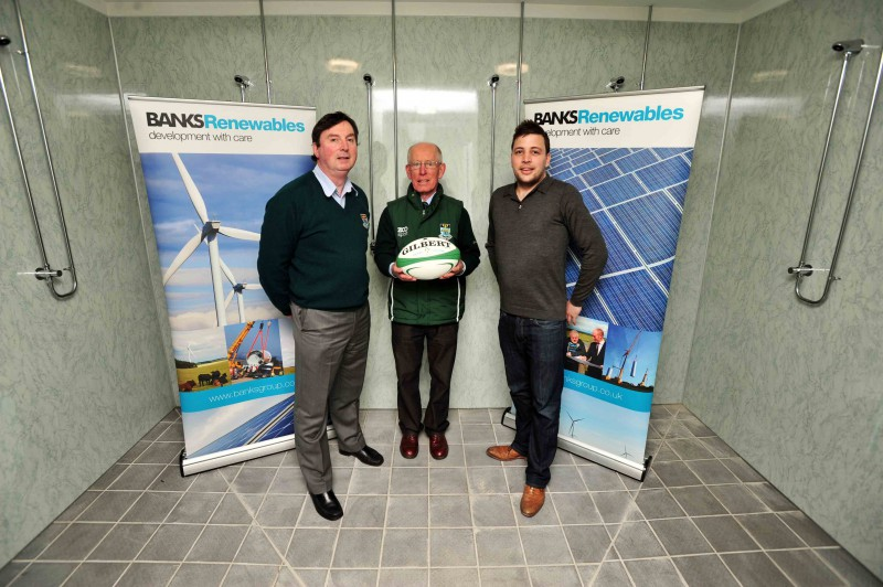 Wind energy company donation to Hawick Rugby club