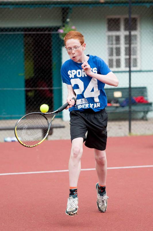 Tennis club PR pictures for Banks Renewables