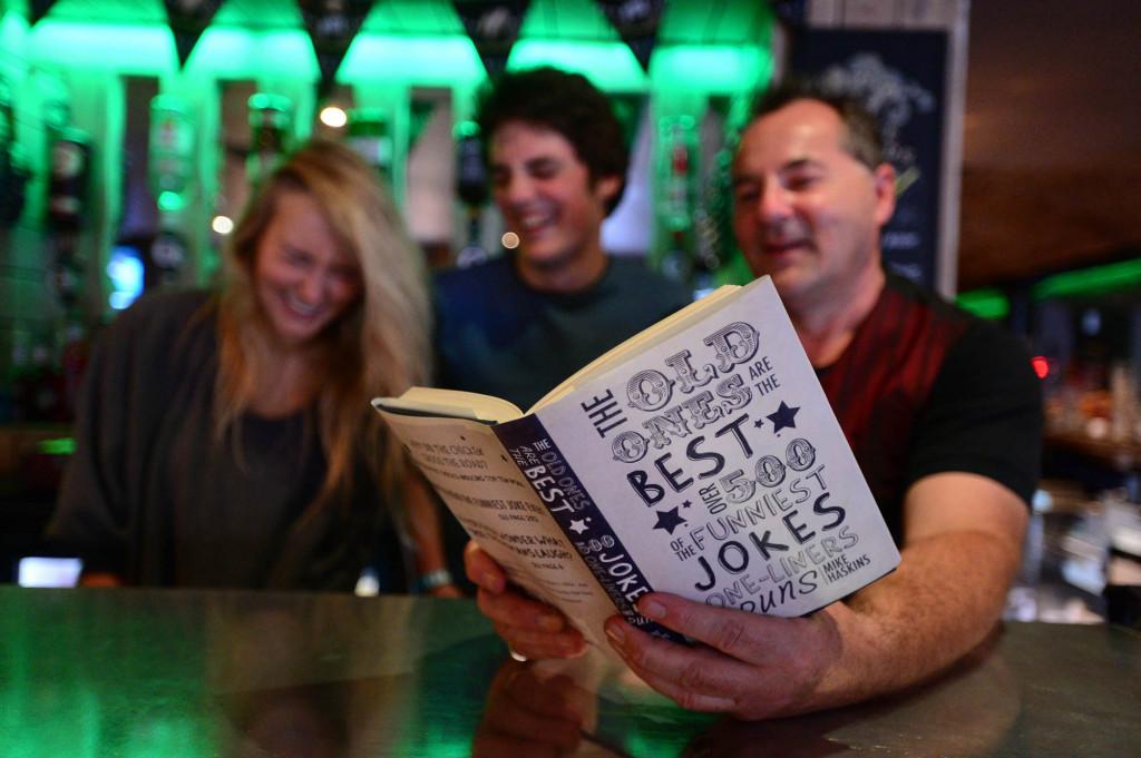 Craic training for staff at Irish bar