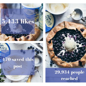 Canva created of the success social media campaign has had on Mackie's in digital PR success story by Edinburgh public relations experts