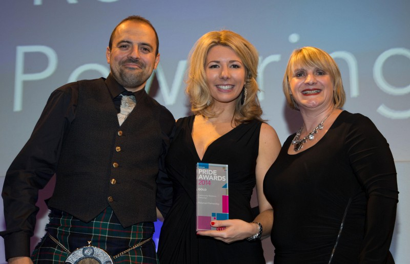 Award winning PR agency scoops gold PR award in Scotland