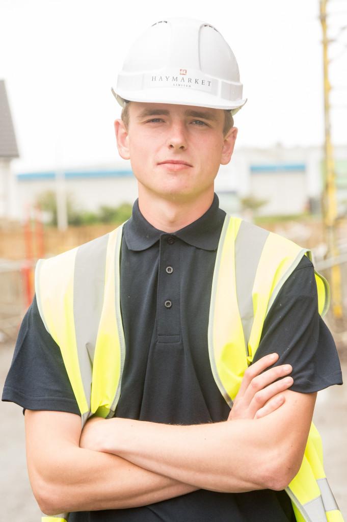 Callum Cunningham one of CALA's Prince's Trust Apprentices