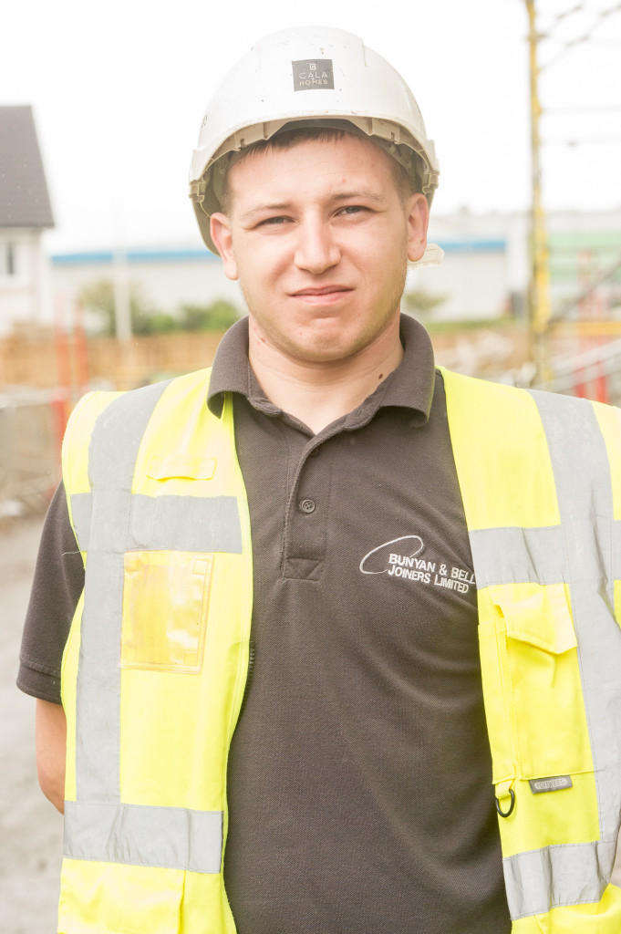 Stephen Brown, one of CALA's Prince's Trust Apprentices