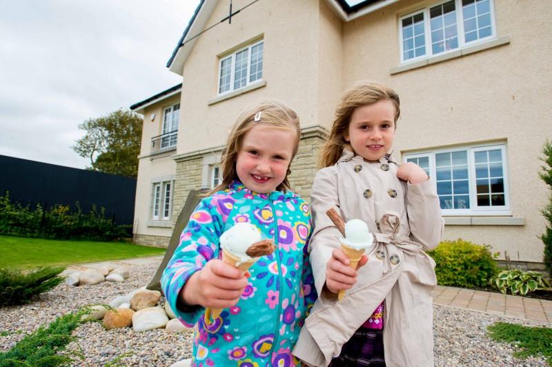 CALA Homes Ice Cream Giveaway PR photos
