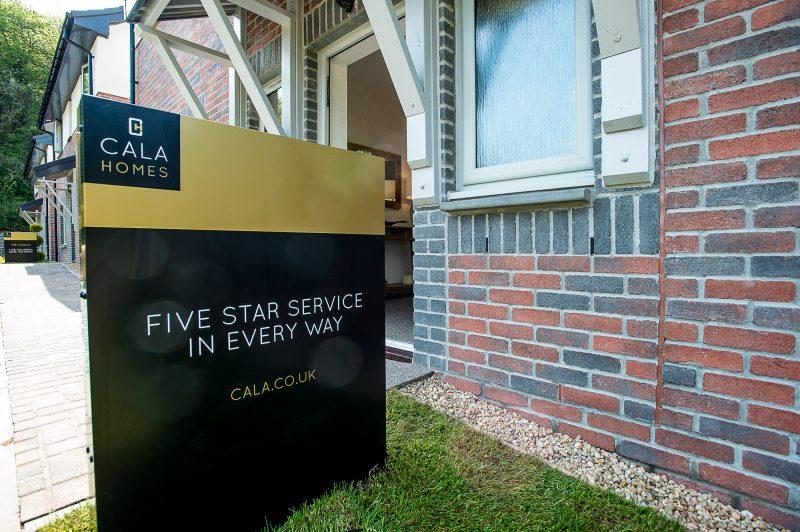 CALA Kinleith sign