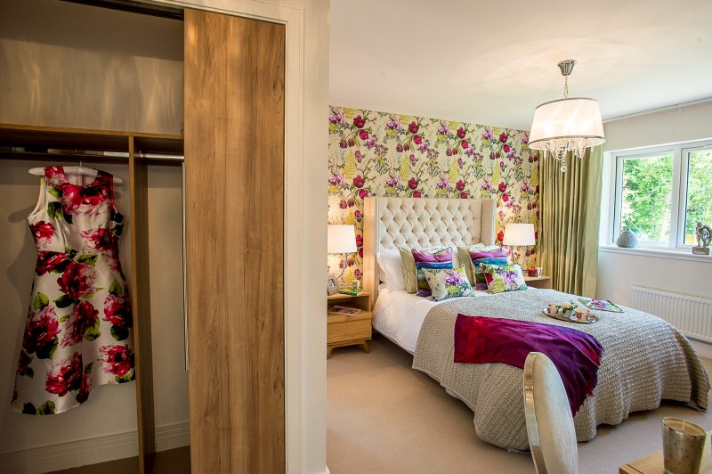 CALA Kinleith Flowery Bedroom