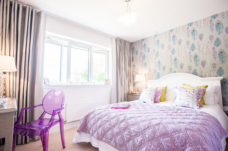 CALA Kinleith Pink Bedroom
