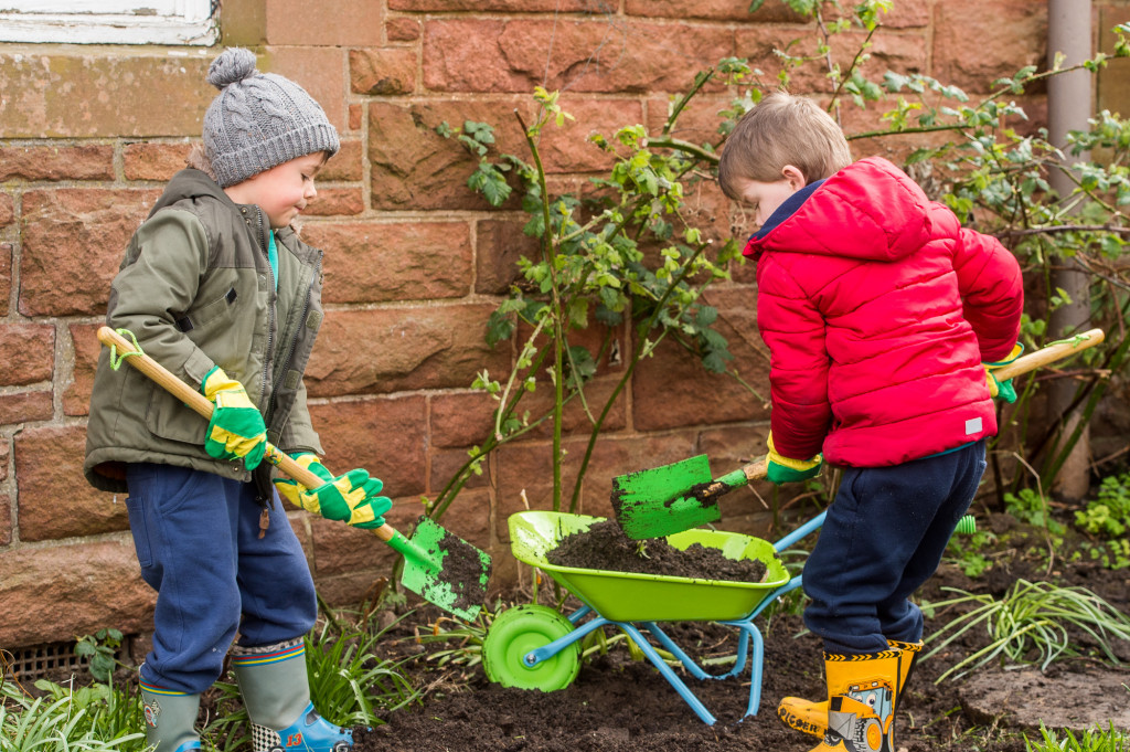North Berwick Young Gardeners for Photography PR
