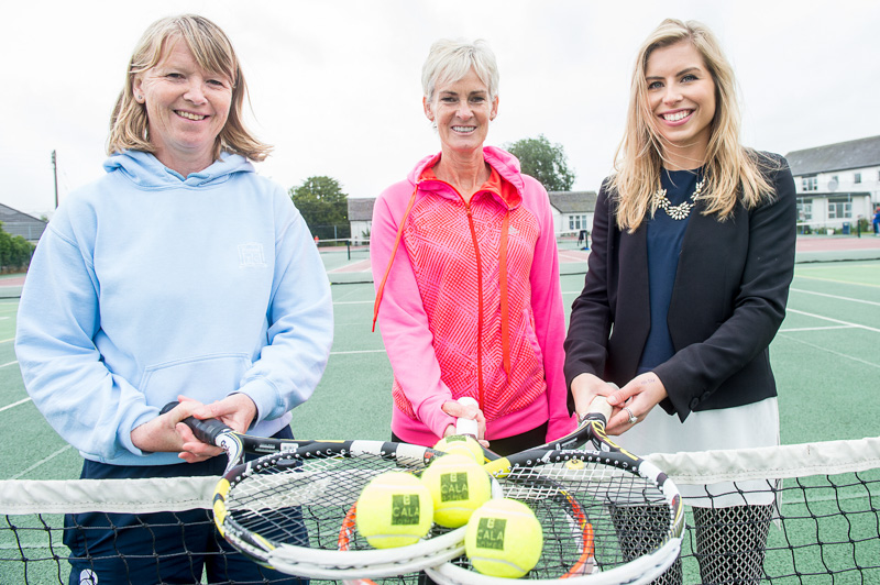 Judy Murray approves Tennis Initiative sponsored by CALA Homes