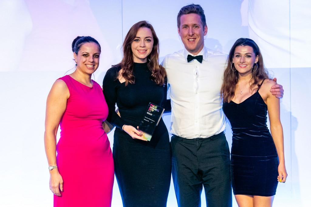 Edinburgh PR agency Holyrood PR collects an award19