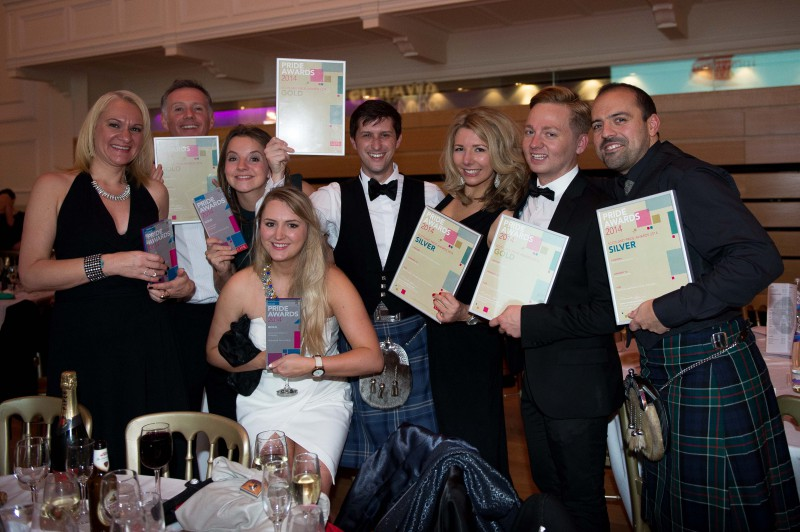 2014 CIPR awards - where Holyrood PR won five PR awards