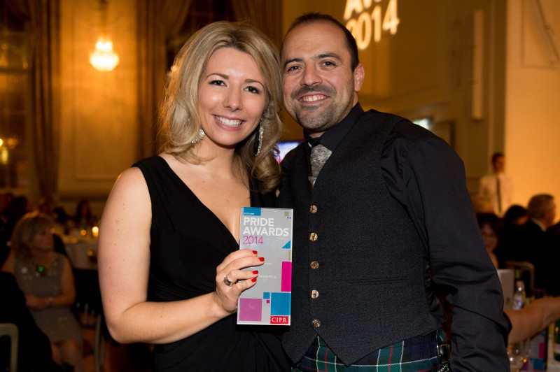 CIPR Awards for Holyrood PR in Edinburgh Scotland