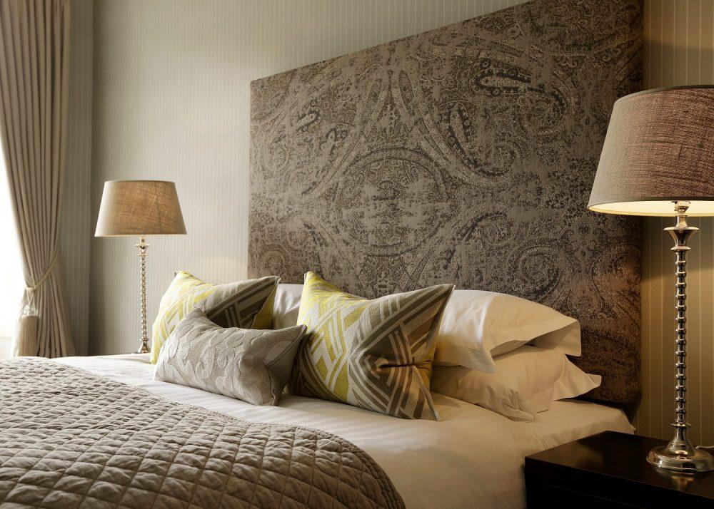 Hotel PR photograph of a bed at Nira Caledonia