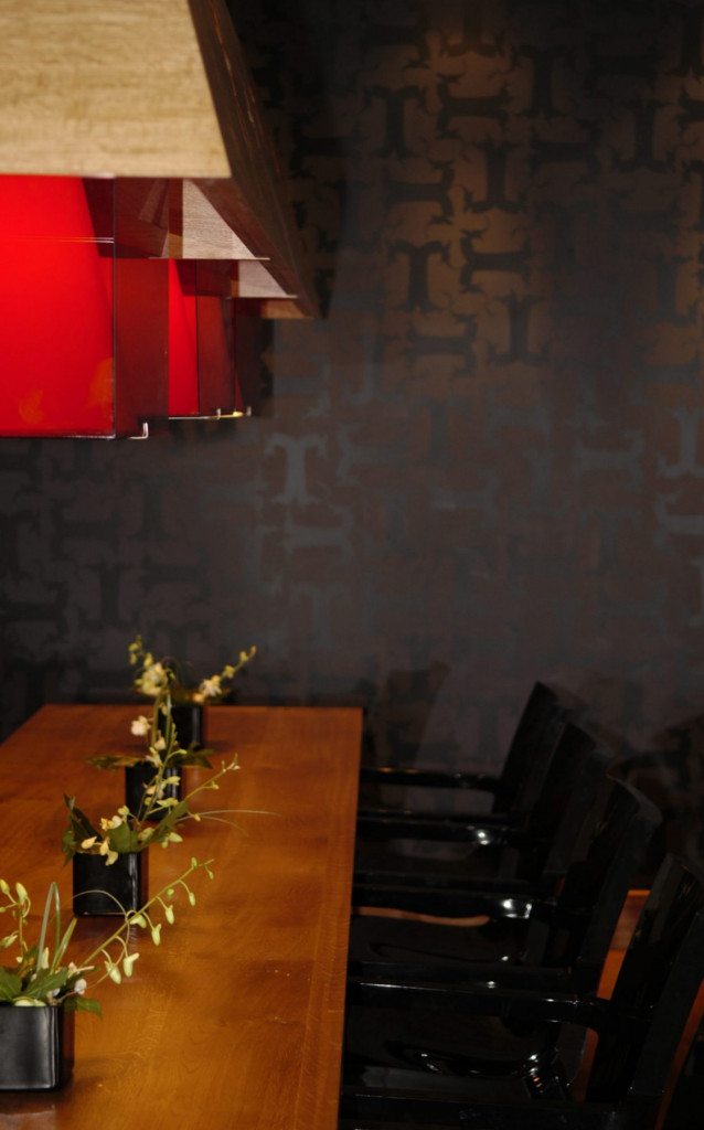 Hospitality PR photography of food and drink area in Tigerlily, Edinburgh