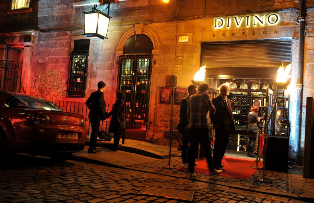 The exterior of Divino Enoteca is shown in a food and drink PR photograph