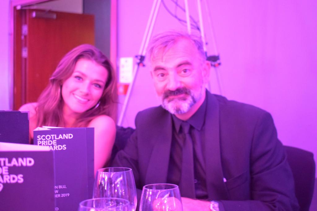 PR photograph of Holyrood PR Account Executive Toni and Director Raymond
