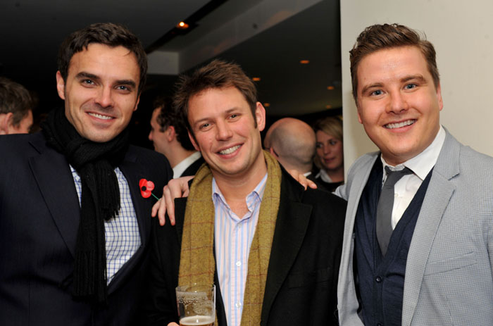 Guests at VIP launch party of Hyde Out style bar