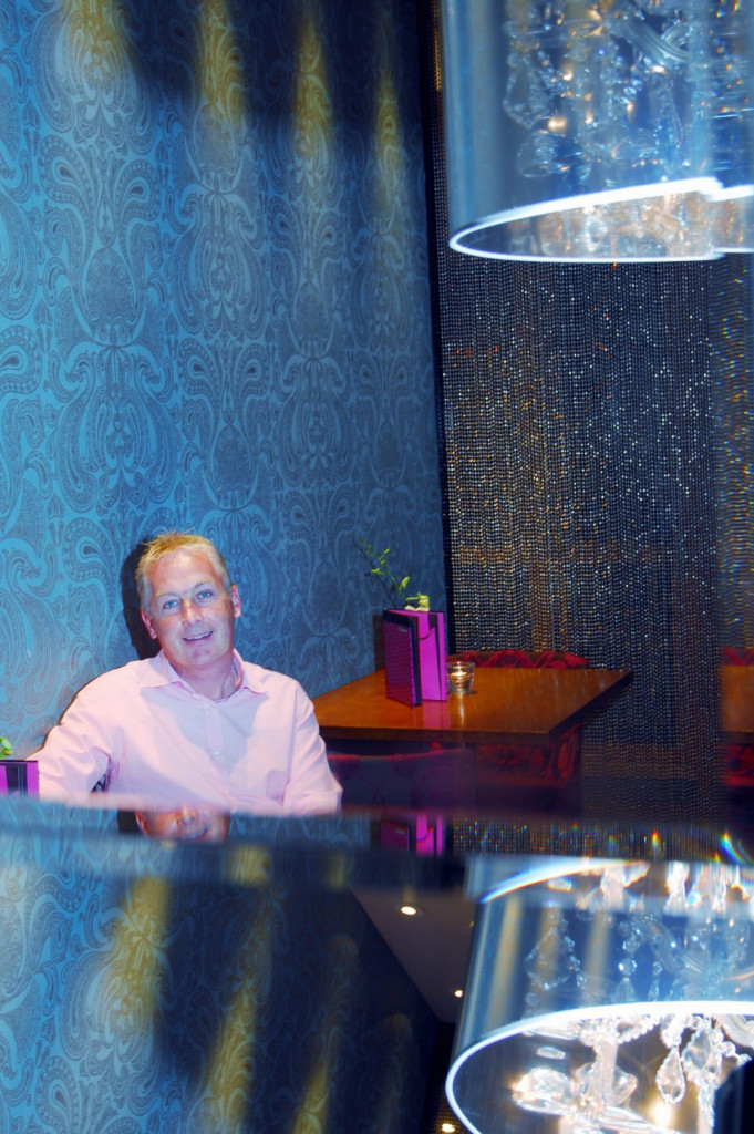 Bar, restaurant and hotel PR photography of David Wither at Tigerlily in Edinburgh