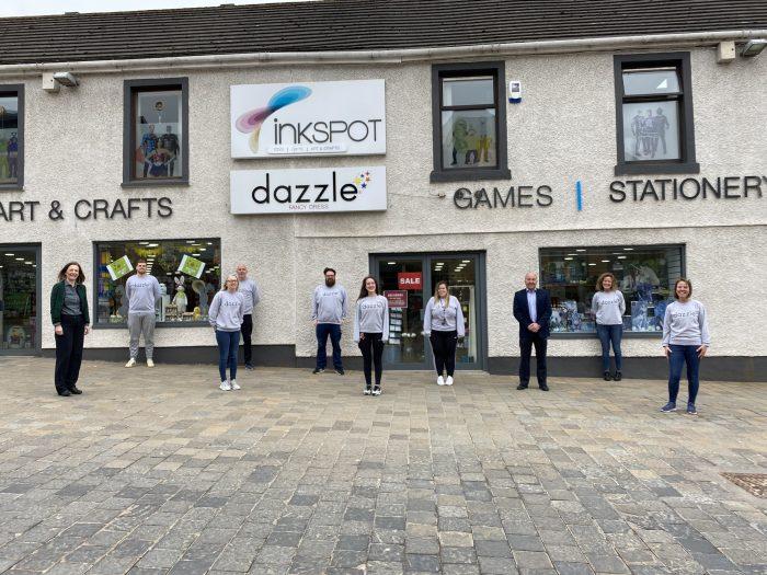 Scottish PR photography, Dazzle Inkspot exterior, Ownership Associates.