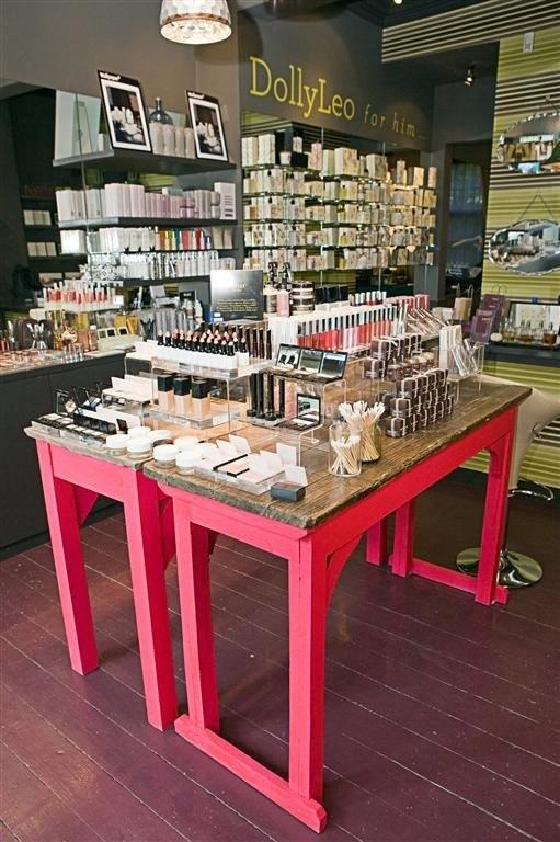 DollyLeo makeup shop in hair and beauty PR photo