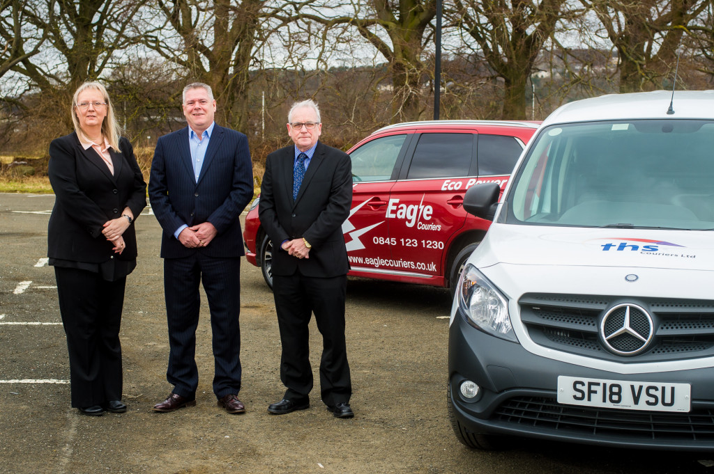 PR photography for major Scotitsh courier