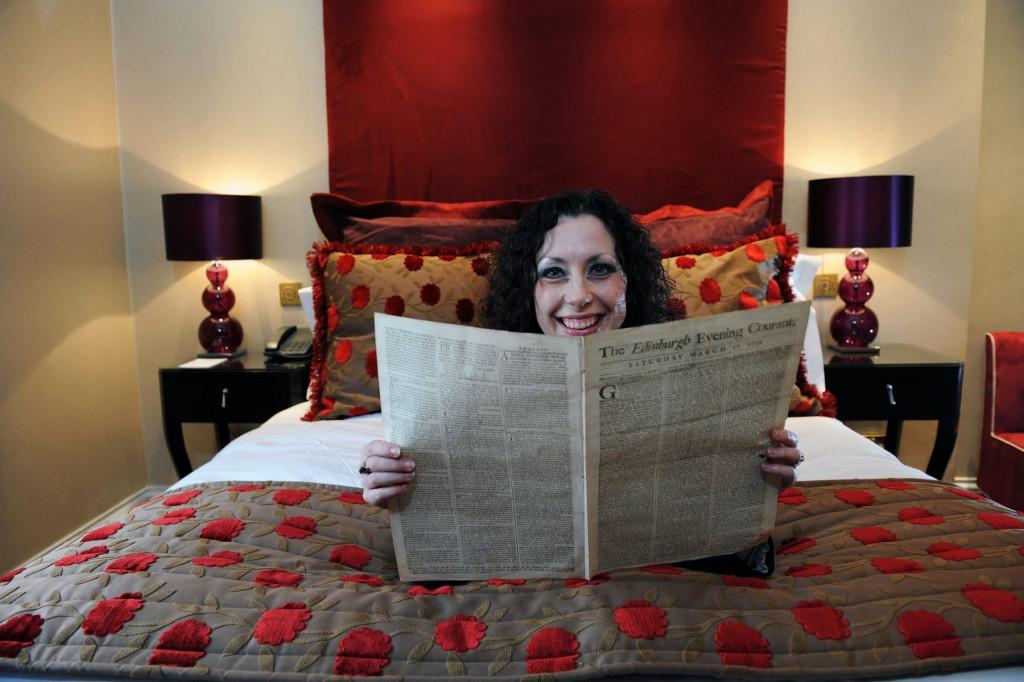Hotel PR photography for Fraser Suites in former newspaper building