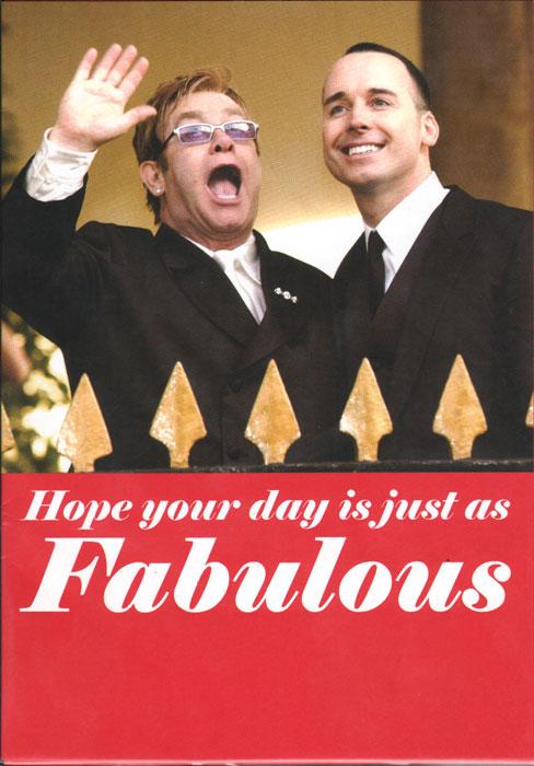 Elton John and David Furnis