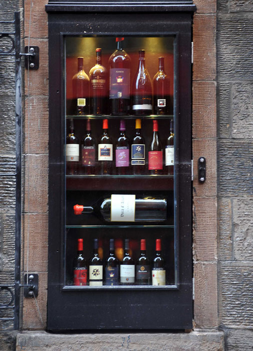 An image of the external of Divino Enoteca shown in a Food and Drink PR image