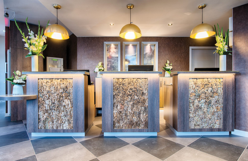 Guests are welcomed to the Leonardo Hotel in Edinburgh at this stylish lobby area