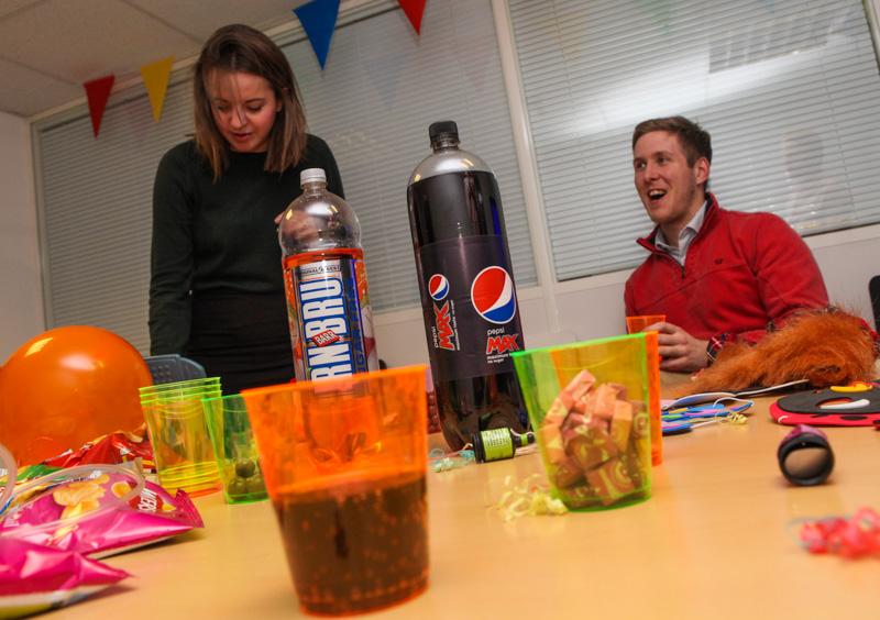 It's Fun at Work Day at this Edinburgh PR Agency