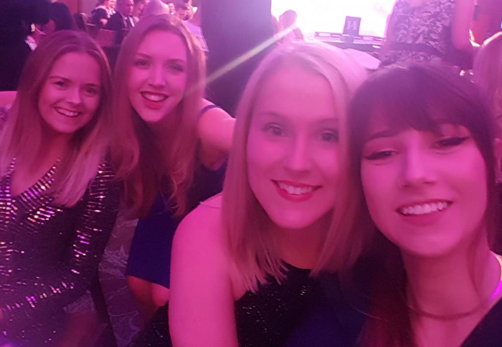 Holyrood PR staff attend a PR awards ceremony