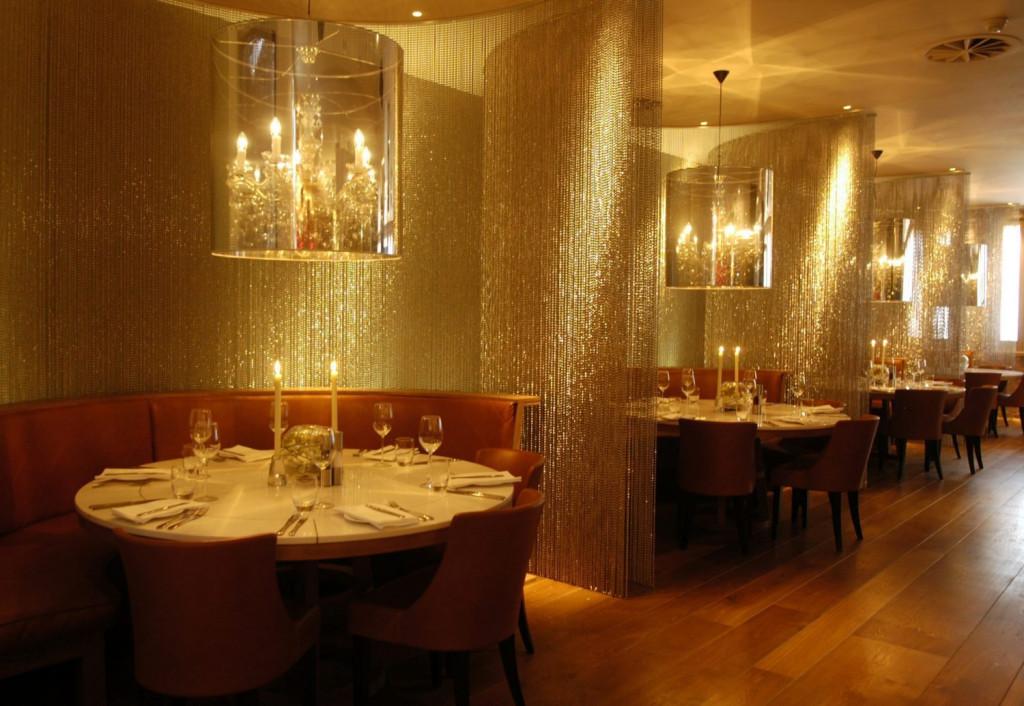 Bar and restaurant PR photography of Tigerlily in Edinburgh