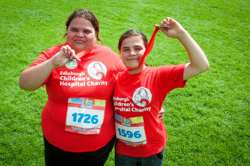Hope beats first 5km for Edinburgh Children's Hospital C