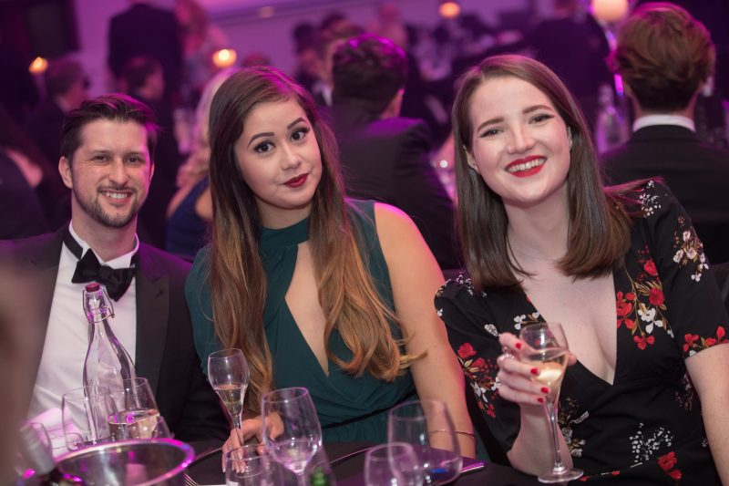 Holyrood PR staff at CIPR Scotland PR Awards 2017