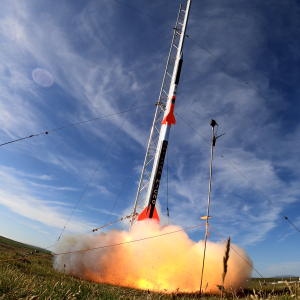 Skylark Micro Rocket Launch in Tech PR story