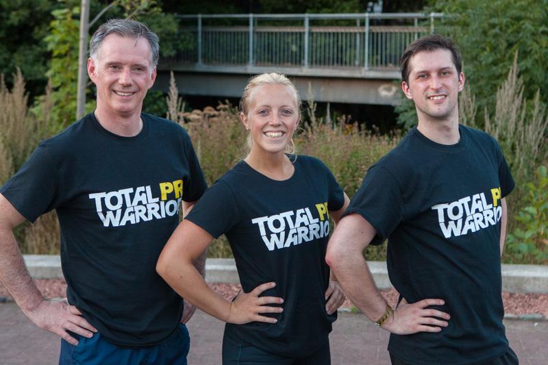Total Warriors PR t-shirts