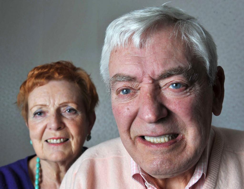 Pensioner's life transformed by dental implants